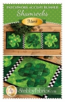 Patchwork Accent Runner - Shamrocks March Pattern by Shabby Fabrics