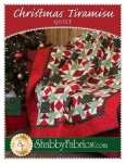 Christmas Tiramisu Quilt Pattern by Shabby Fabrics