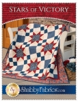 Stars of Victory Quilt Pattern by Shabby Fabrics