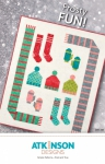 Frosty Fun Quilt Pattern by Atkinson designs