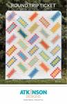 Round Trip Ticket Quilt Pattern by Atkinson designs