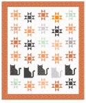 Scaredy Cat Quilt Pattern by Amanda Niederhauser