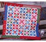 Cut Loose Press - Buttonton Square Quilt Pattern