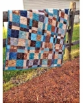 Cut Loose Press - Double Four Patch Throw Quilt Pattern