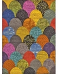 Cut Loose Press - Giant Clam Shells Quilt Pattern