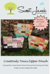 Creatively Your Zipper Pouch Pattern by Sweet Janes Quilting & Design