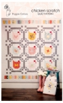 Chicken Scratch Quilt Pattern by Poppie Cotton