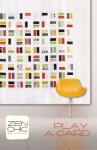 Play A Card Pattern by Brigitte Heitland Zen Chic