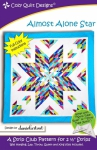 Almost Alone Star Quilt Pattern by Cozy Quilts Designs