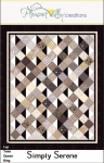 Simply Serene Quilt Pattern by Diana Beaubien