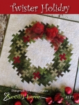 Twister Holiday Pattern by Becky Cogan