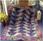 Cut Loose Press - Fly Away Log Cabin Quilt Pattern