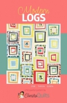 Modern Logs Quilt Pattern by Christa Quilts