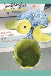 Sea Turtle Pin Cushion and Thread Catcher by Jennifer Jangles