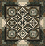 Canyon Pattern BOM Quilt Pattern by Wing and a Prayer Design