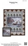 Mountain Stag Panel Quilt Pattern by Castilleja Cotton