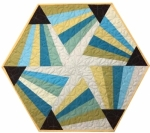 Cut Loose Press - Magic Triangle Table Topper Pattern