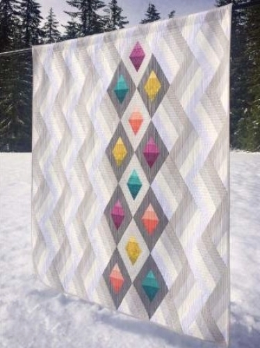 Cut Loose Press - Woven Jewelbox Quilt Pattern