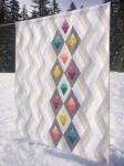 Cut Loose Press - Woven Jewelbox Quilt Pattern