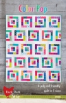 Color Pop Quilt Pattern by Cluck Cluck Sew