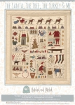 The Santa, The Tree, The Turkey and Me Pattern by Hatched and Patched