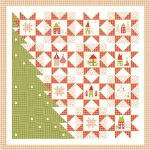 A Merry Little Christmas Quilt Pattern by Sandy Gervais