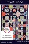 Picket Fence Quilt Pattern by Myra Barnes