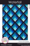 Waterfall Quilt Pattern by Myra Barnes / Busy Hands Quilts