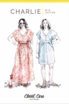 Charlie Caftan Pattern by Closet Core Patterns