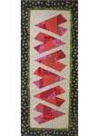 Cut Loose Press - Crazy Hearts Table Runner Pattern