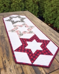 Cut Loose Press - Hollow Star Table Runner Pattern