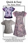 Quick & Easy Tee, Tunic, Dress Pattern by Karen Nye CNT Pattern Co