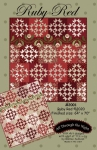 Ruby Red Quilt Pattern by Bonnie Sullivan / All Through The Night