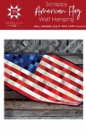 Scrappy American Flag Wall Hanging Pattern by Running Stitch Quilts
