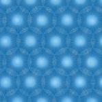 BENARTEX - Pearl Reflections - Dandelion Dots - Peacock Blue