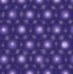 BENARTEX - Pearl Reflections - Dandelion Dots - Deep Purple