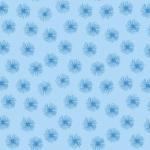 BENARTEX - Pearl Reflections - Floating Dandelion - Sky Blue