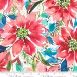 MODA FABRICS - Starflower Christmas - Floral - White
