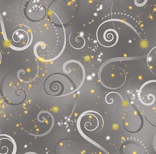BENARTEX - Dragonfly Dance - Dove Gray Swirl