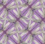 BENARTEX - Dragonfly Dance - Lavender/Gray Pinwheel