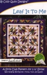 Leaf It To Me by Cozy Quilt Designs