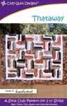 Thataway by Cozy Quilt Designs