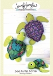 Sea Turtle Softie Pattern by Jennifer Jangles