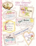 Girls Getaway #5 Lace & Signs by Crabapple Hill Studio