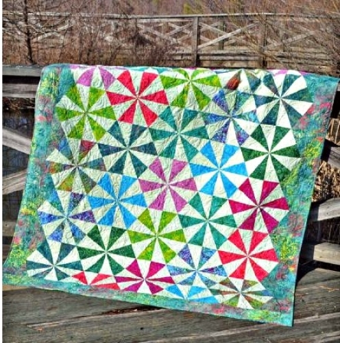 Cut Loose Press Bloom Quilt Pattern Clpcvb005 Quilt In A Day
