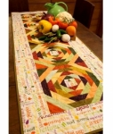 Cut Loose Press -  Eat Your Veggies Table Runner Pattern