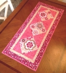 Cut Loose Press - Sassy Squares Table Runner Quilt Pattern