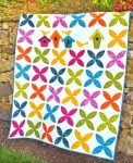 Cut Loose Press - Show your Row: Orange Blossom Quilt Pattern