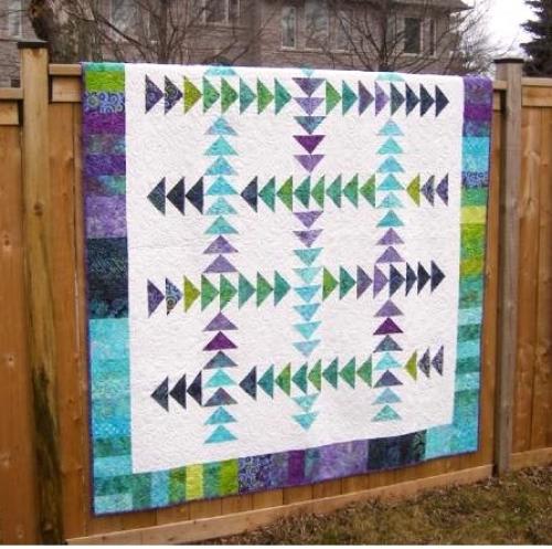 Cut Loose Press Running Geese Quilt Pattern Clpbgr006