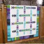 Cut Loose Press - Running Geese Quilt Pattern